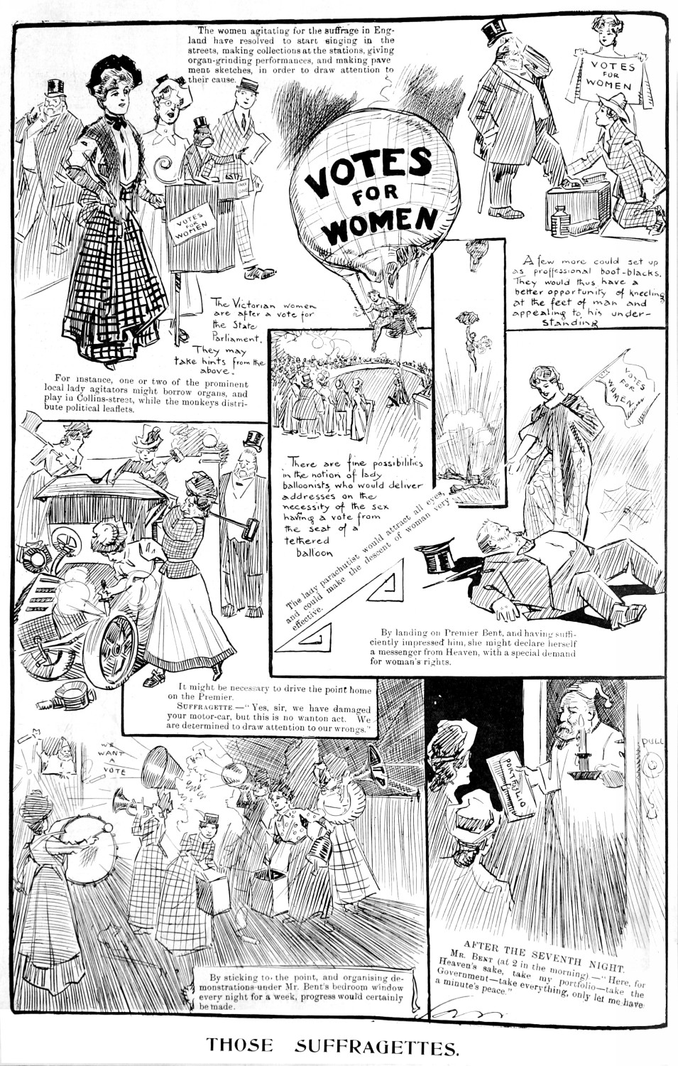 1908-02-27 Melb Punch p298 Those Suffragettes