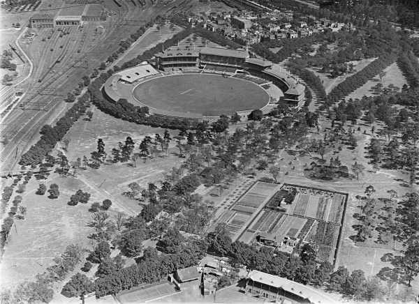 1928 Yarra Park And Mcg East Melbourne Historical Society