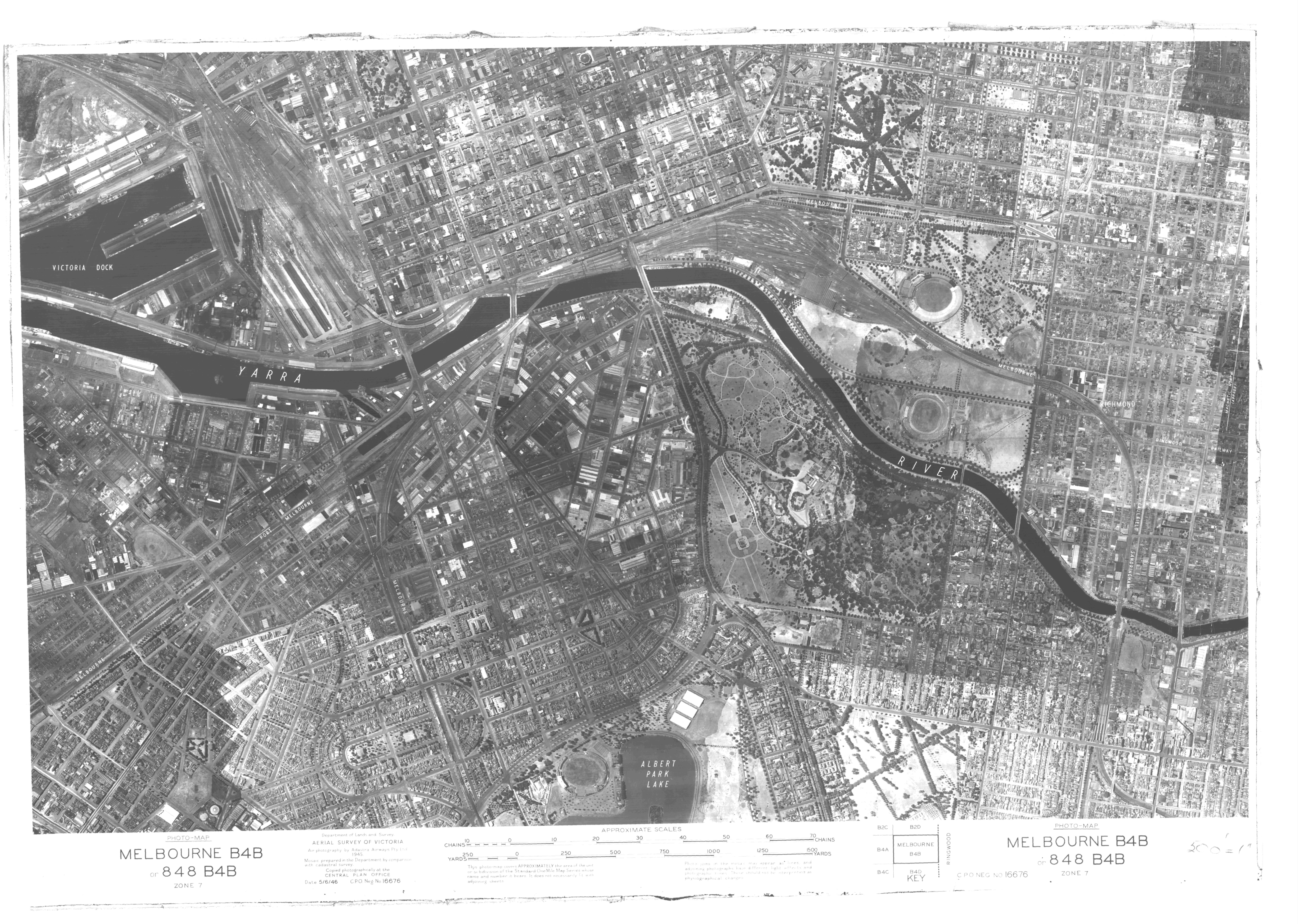 Aerial Map Of Melbourne East Melbourne Historical Society - Historical aerial maps