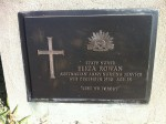 Grave of Eliza Rowan AANS, Dromana Cemetery, Victoria