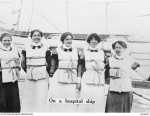 Nurses on transport duty (AWM A03430)