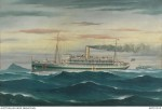 No 2 Australian Hospital Ship, by Reginald Borstel 1916. AWM ART91910