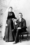 Theodor Ernest (Edward) Briese & Pauline Anna Schmidt wedding photograph