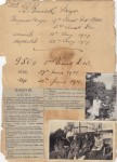 Thomas Borwick family album - record 1917-1918