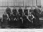 Robert Brownlee (top left) standing, Westport Coal Mine 1930