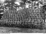 6th Battalion, photographed at Broadmeadows, AWM DAX0914