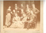 Cooney family.  F J Cooney middle row, right