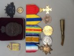Tom Corrigan's medals