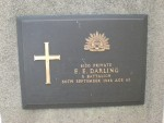Edward Ernest Darling grave St. Kilda Cemetery, Victoria