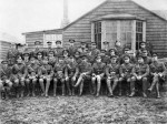 Commanding Officer and Officers of 3 AFC at Bailleul, November 1917.  Captain
