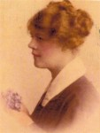 Edith Mary Rawlinson, wife of Chassie Brooks 1915