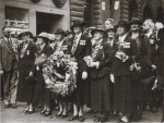Edith Miller (front 2nd right), ?ANZAC Day, New Zealand (nd) (family collection)