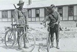 Two soldiers from 1st Australian Cyclists  Corps