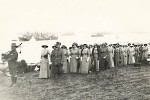 First contingent of Australian sisters arriving at Lemnos 1915