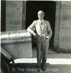 Ipsen as teacher at Geelong College