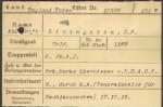 Livingston's German Casualty Card