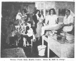 Sister May Hall, Moonee Ponds Baby Health Centre (Essendon Gazette, 3.8.1950)