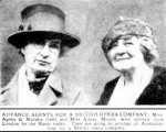 Agnes Murphy and Aimee Moore. The Herald, 17 Jun 1929, p.22
