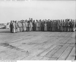 Nurses in McKinnon's group before embarking on the Orsova July 1915 AWM PB0732