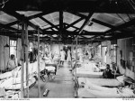 Hospital ward at 2 AGH Wimereux, 1918 (AWM PO1630)