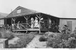 Sisters quarters 2AGH 1917 Wimereux (AWM P02402.002)