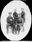 Kendall & brothers, Lt Cols Ernest, John & William, Egypt 1915 (AWM P04272.001)