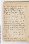 Extract from Irene Bonnin's diary (PRG 621/21, State Library of SA)