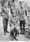 Joseph Ernest Purdey standing on right. Brother George Rising Purdey in middle