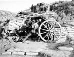 Australian 3rd Field Artillery Brigade in action