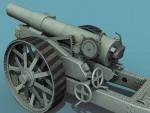 3rd British Howitzer Gun