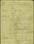 Mention in Army Routine Orders of Ernest Humphrey Scott, copy handwritten by him