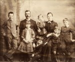 Eleanor Kendall, parents & siblings (Kendall Papers, Uni Melbourne Archives)