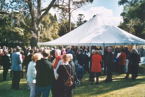 017 Launch of Australias Open Garden Scheme August 2003