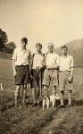 05 1935c Robin, Frank, Edward, Sam Woods