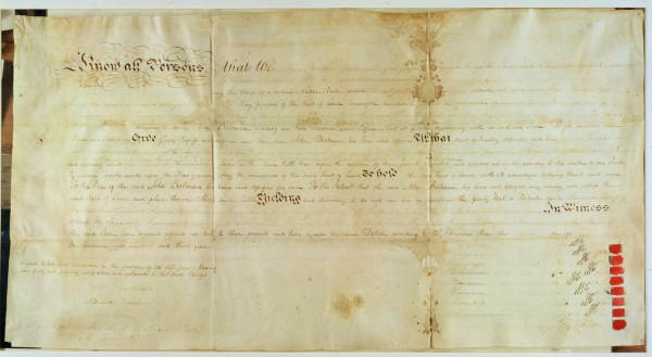 1835 30 Treaty with Aborigines