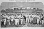 1864 MCG International Cricket Match