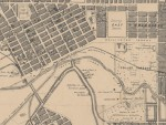 1864c East Melbourne Map