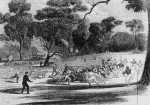 1866 Richmond Paddock Australian football match