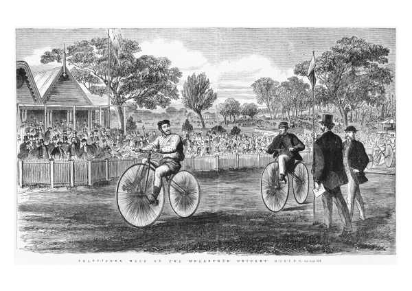 1869 MCG Velocipede Race