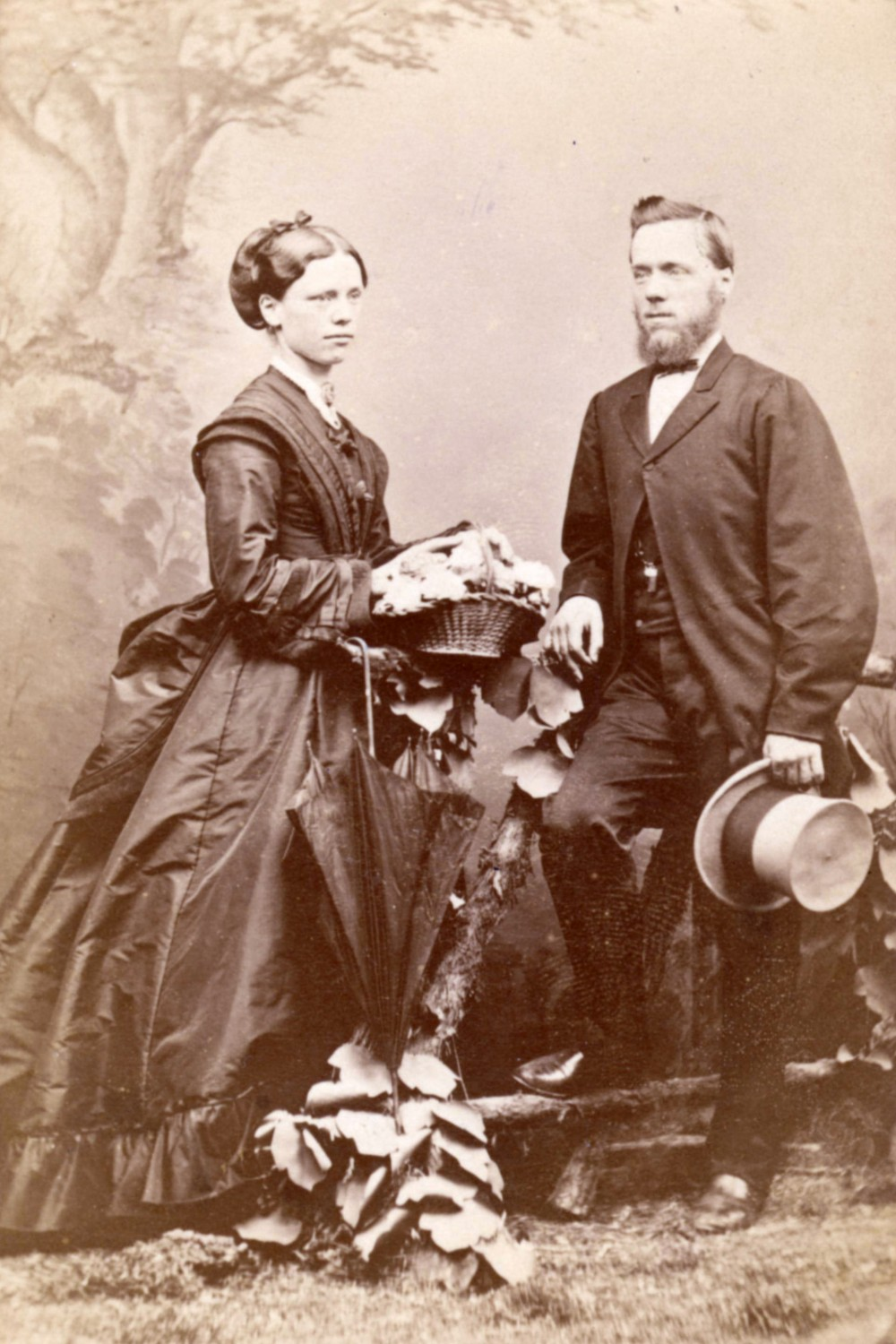 1870 Margaret and William McLean