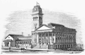 Fitzroy Town Hall - 1874