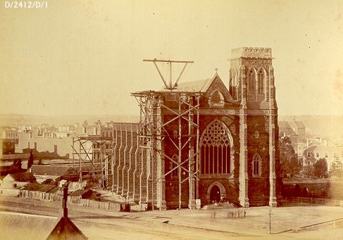 1875 cir St Patrick's Cathedral