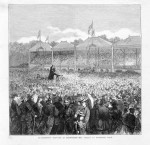 1877 Richmond Paddock - Mr Varley Preaching