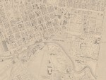 1864 East Melbourne Map