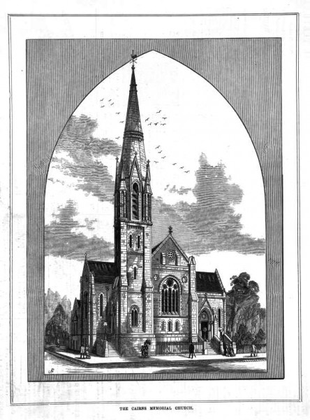1883 Cairns Memorial Church concept