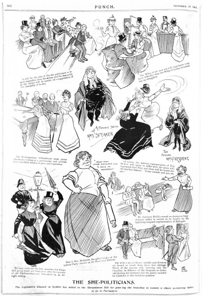 1901-09-26 Melb Punch p362 She-Politicians