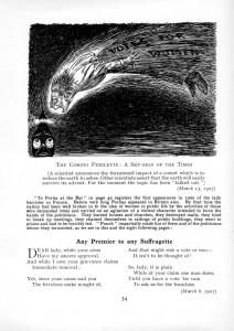 1907 Punch Cavalcade p54 - Comet