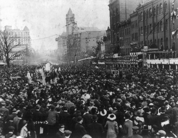 1913 Washington DC Pennsylvania Ave - Suffrage Parade