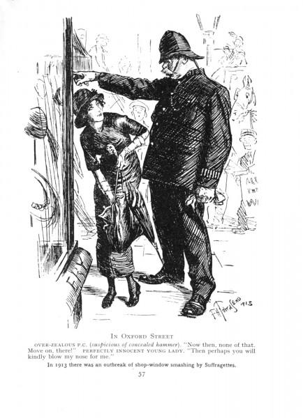 1913 Punch Cavalcade p57 - Oxford Street