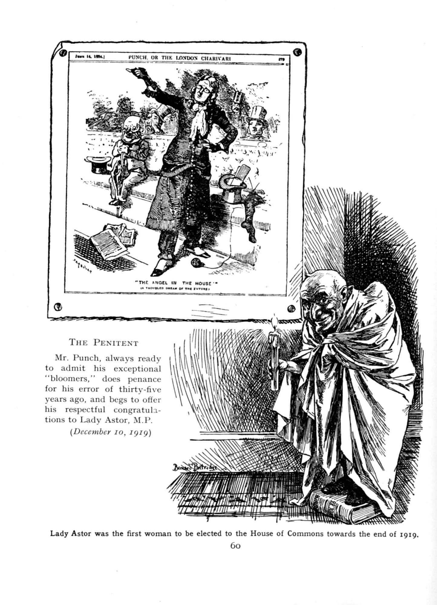 1919 Punch Cavalcade p60 - The Penitent